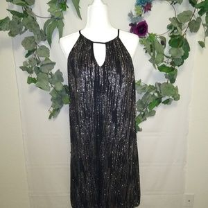 🍁Black Glitter Dress, Candies NWT